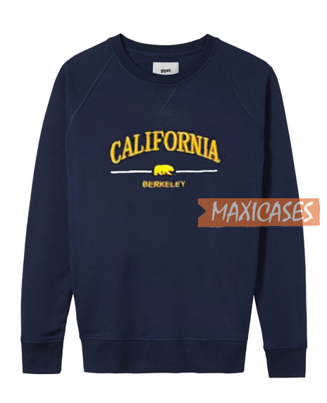 California Berkelay SweatshirtCalifornia Berkelay SweatshirtCalifornia Berkelay Sweatshirt