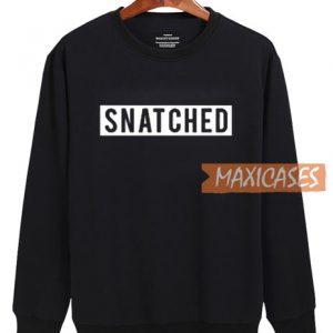 Snatched Logo Sweatshirt