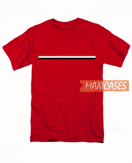Striped Red T Shirt