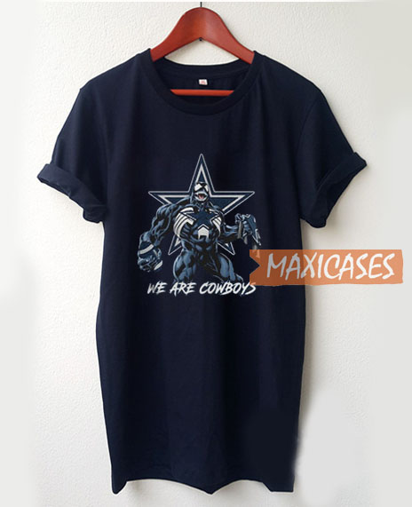 Venom We Are Cowboys T Shirt