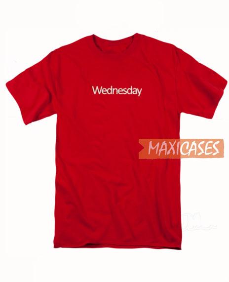 Wednesday T Shirt