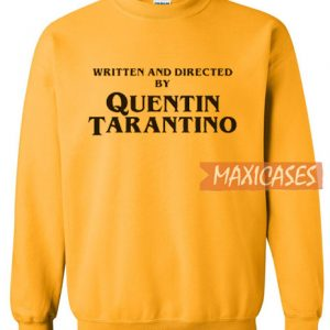 Written And Directed Sweatshirt