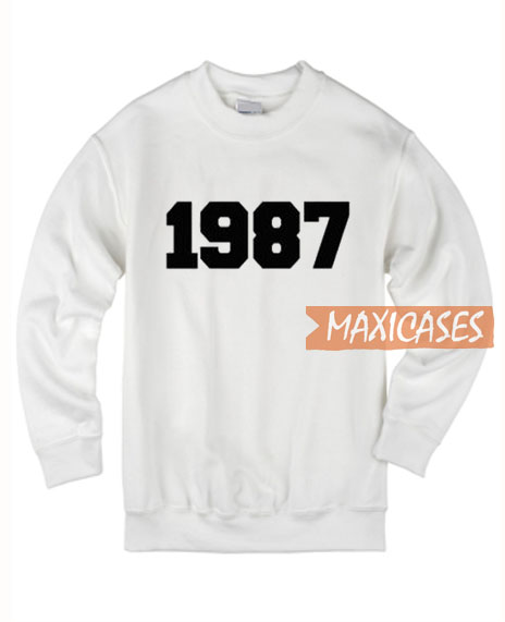1987 Number Sweatshirt