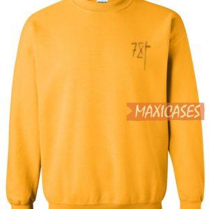 7X Yellow Sweatshirt