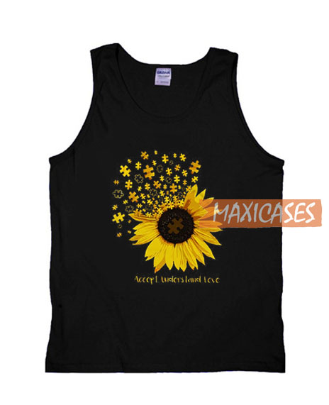 Accept Understand Love Tank Top