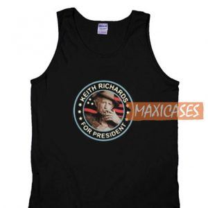 American Keith Richards Tank Top