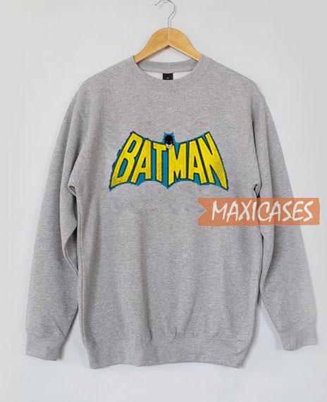 Blue Batman Sweatshirt