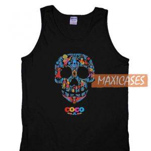 Coco Skull Pattern Tank Top