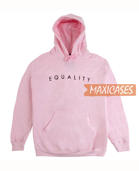 Equality Font Hoodie