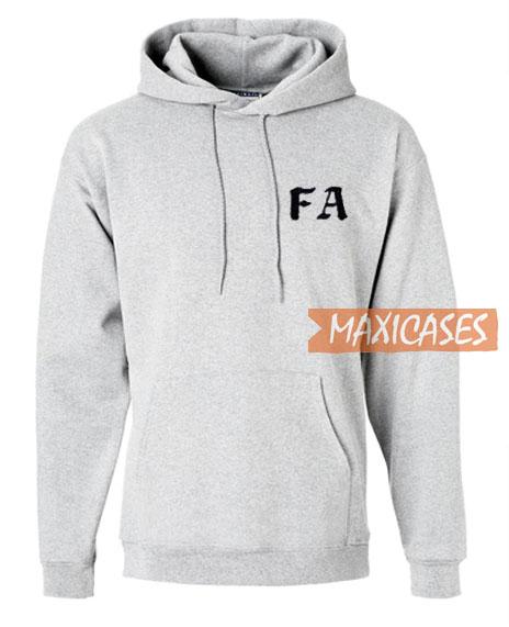 FA Font Hoodie