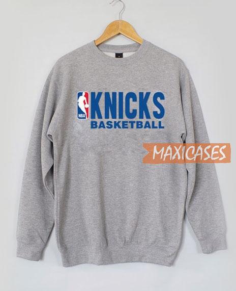 0dd230d4d Knicks Basketball Sweatshirt Unisex Adult Size S to 3XL