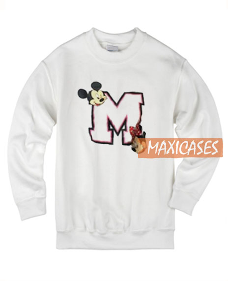 Mickey Mouse And Minnie Mouse Sweatshirt