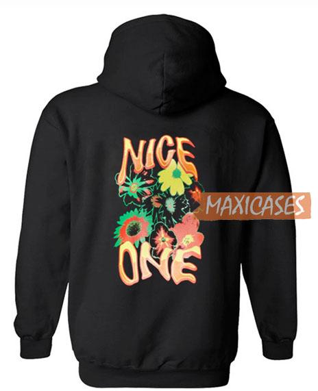 Nice One Black Hoodie