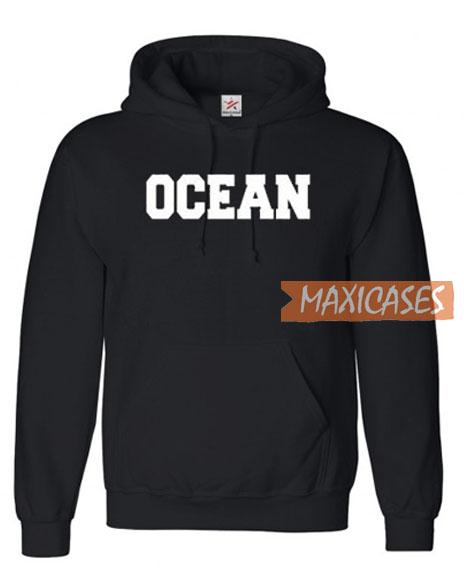 Ocean Font Hoodie