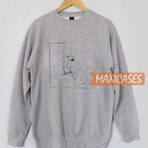 Smoking Girl Sweatshirt