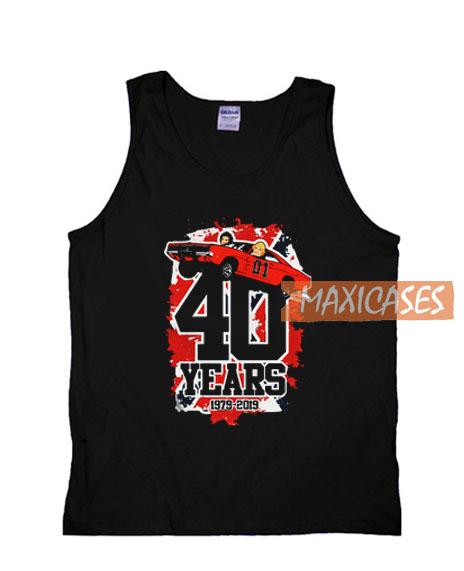 40 Years 1979 2019 Tank Top