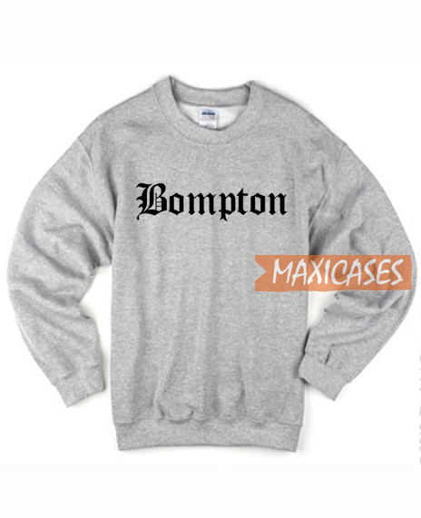 Bompton Font Sweatshirt