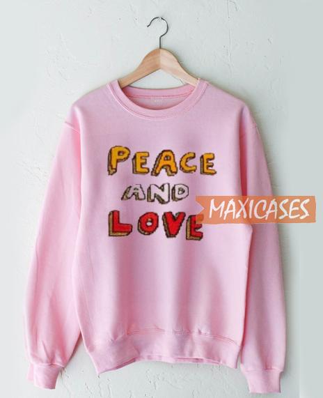 Peace And Love Sweatshirt