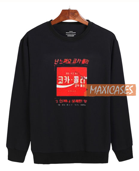 Seoul Cola Logo Sweatshirt