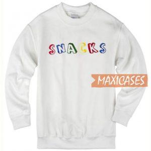 Snacks Color Sweatshirt