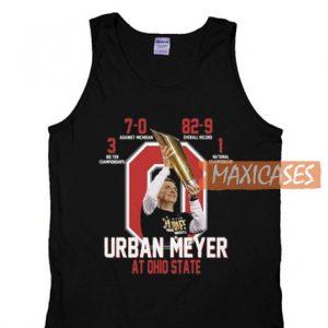 Urban Meyer At Ohio Tank Top