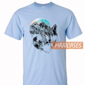 Wolf Mountains T Shirt