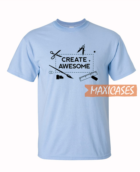Create Awesome T Shirt