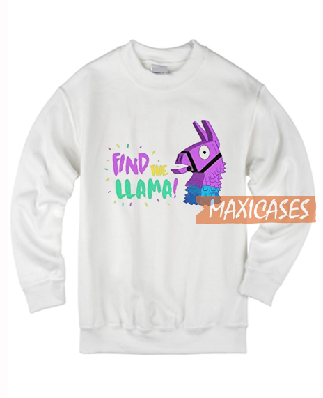 Find The Llama Sweatshirt