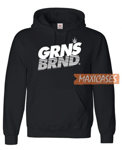 GRNS BRND Font Hoodie