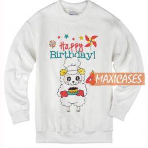 Happy Birthday Cute Sheep Sweatshirt