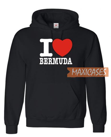 I Love Bermuda Hoodie