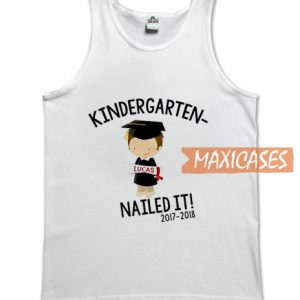 Kindergarten Graduation Tank Top