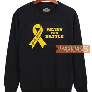 Ready For Battle Graphic Sweatshirt