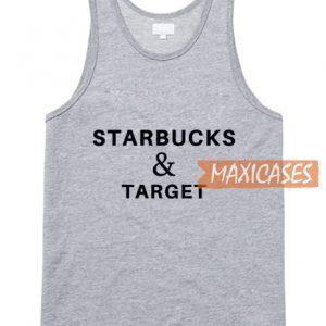 Starbucks And Target Tank Top