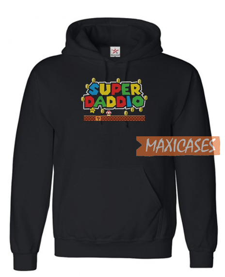 Super Daddio Fathers Day Hoodie