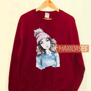 Women Girl Sweatshirt