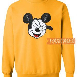 Yellow Mickey Sweatshirt