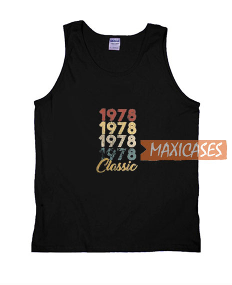 1978 Classic Graphic Tank Top