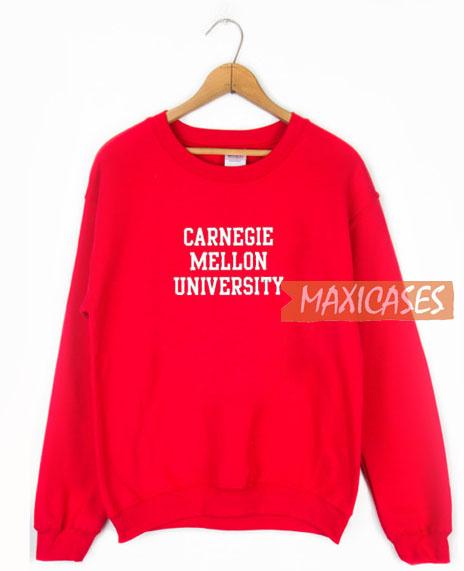 Carnegie Mellon Font Sweatshirt