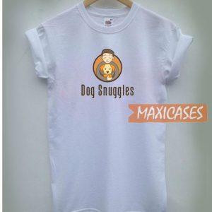 Dog Snuggles Logo T Shirt