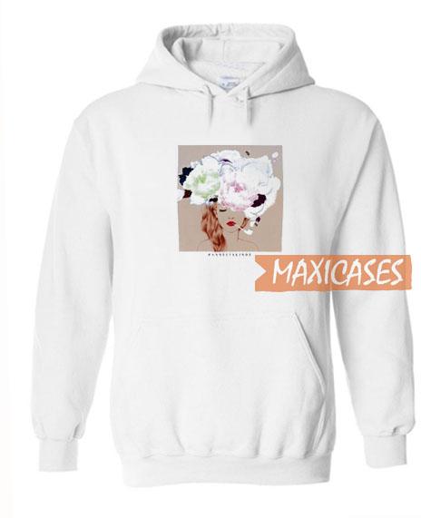 Girl Flower Hoodie