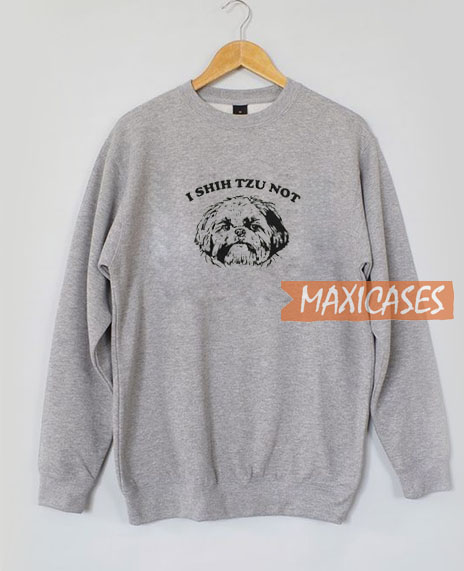 I Shih Tzu Graphic Sweatshirt