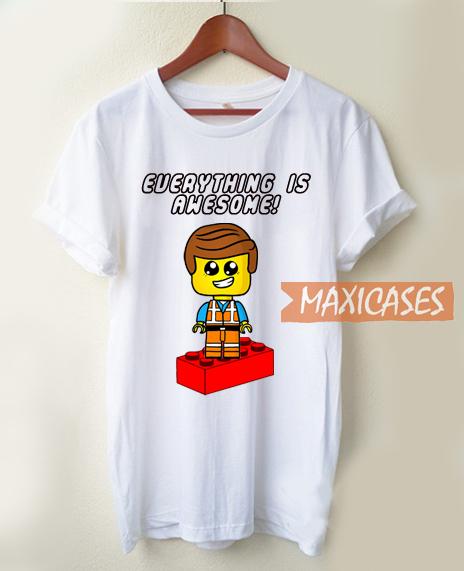 Lego Emmet Inspired T Shirt
