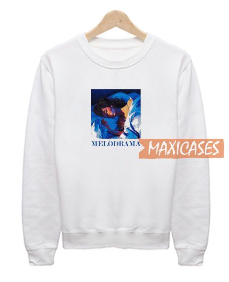 Melodrama White Sweatshirt
