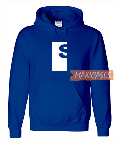 S Logo Blue Hoodie