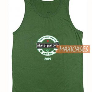 State Pattys Green Tank Top