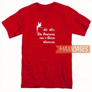 We Will Do Font T Shirt