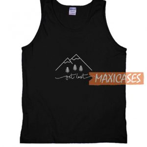 Get Lost Mountain Tank Top