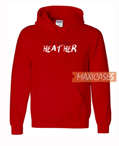 Heather Graphic Hoodie