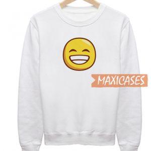 Smiling Eyes Emoji Sweatshirt